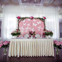 Свадебный декор, оформление.  Моно Бутик Отель. Флорист Струкова Таисия.