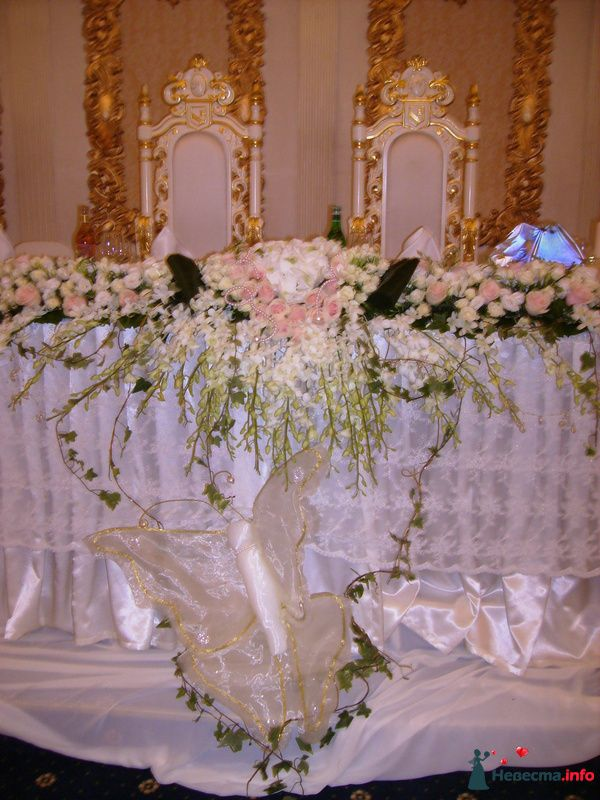 композиция на столе у молодых - фото 121510 Невеста01