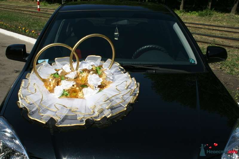 """Фото 116344 в коллекции Украшения на автомобили. - Свадебное агентство """"Мечта"""""""