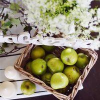яблочная свадьба, декор для яблочной свадьбы