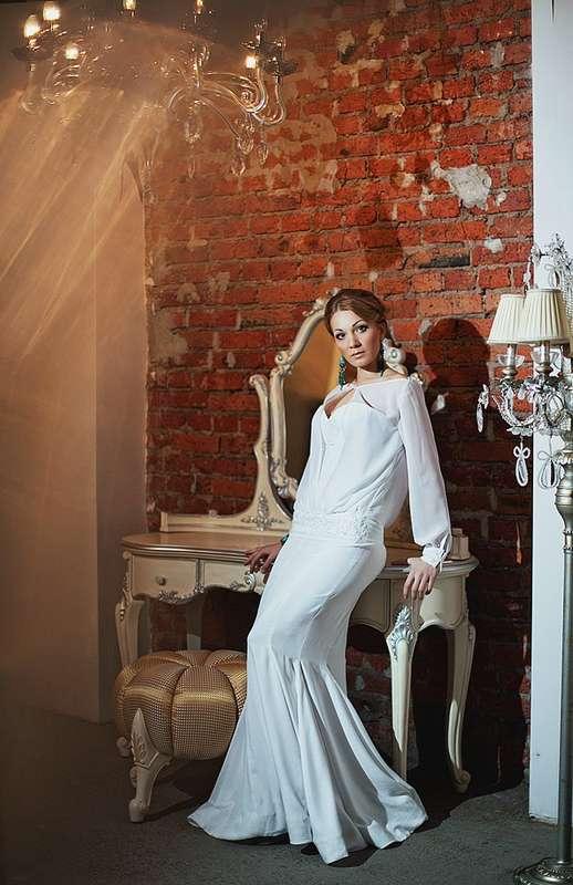 модель Iren размер 42-44 цвет белый Цена 16 000 руб - фото 1748593 Свадебный салон Ceremony