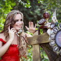 Фантазиная свадебная фотосесиия, Алиса в стране чудес