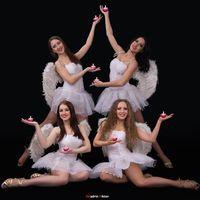 Ангелы, сопровождение первого танца молодых
