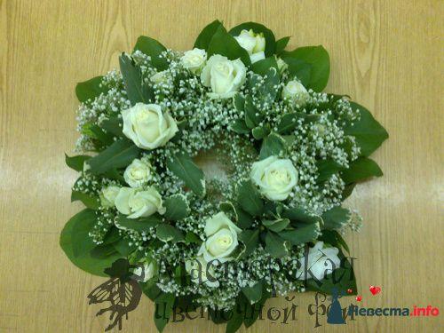 композиция на стол для гостей - фото 121623 Мастерская цветочной феи - цветы