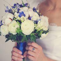 Букет невесты для рустикальной свадьбы  Фото: студия Гранат