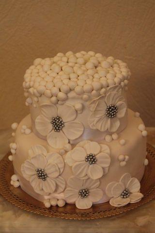 Фото 1134739 в коллекции торты - Иннэсса - свадебные торты из мастики