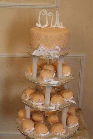 Фото 1134741 в коллекции торты - Иннэсса - свадебные торты из мастики