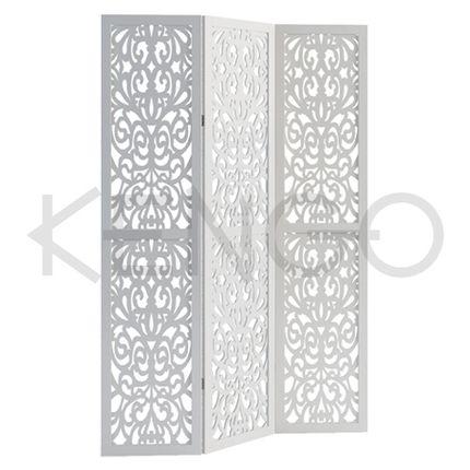 Белая свадебная ширма, артикул: 5072WT