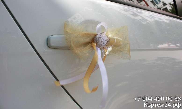 Фото 1142063 в коллекции Украшения на машины ручной работы - Свадебный кортеж 34Ф