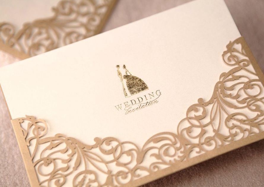 """Приглашение на свадьбу, выполненное в цветах соответствующих тематике торжества, в бело-карамельных тонах  - фото 2333154 """"Bombons di VS design"""" - свадебные аксессуары"""