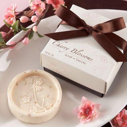 Декоративное мыло вишневое
