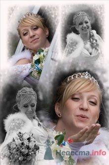 """Свадебная прическа - фото 24785 Студия свадебной моды """"Артрина"""""""