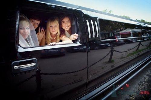 Лимузин на свадьбе Алексея и Оксаны