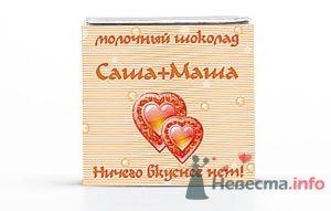 Фото 12293 в коллекции Свадебные шоколадки - Foxysu - приглашения на свадьбу