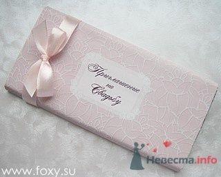 Фото 12295 в коллекции Свадебные шоколадки - Foxysu - приглашения на свадьбу