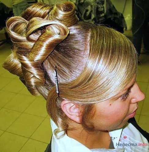 """Свадебная прическа - фото 17723 Студия волос """"Монро"""""""