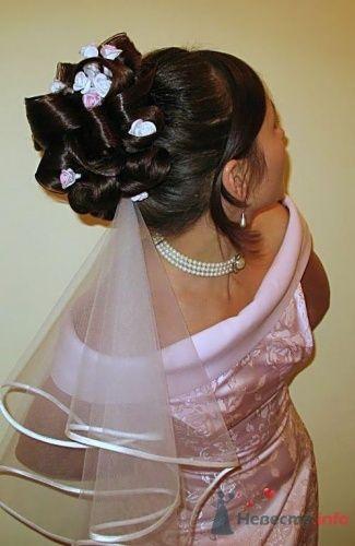"""Свадебная прическа 2 - фото 17725 Студия волос """"Монро"""""""