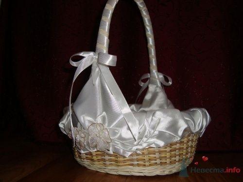 А вот и корзиночка для лепестков собственного производства - фото 16349 Светик