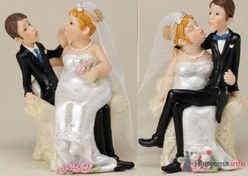 """Свадебные фигурки на торт - фото 10576 """"Бар-О-Белл"""" - кондитерские изделия"""