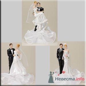 """Свадебные фигурки на торт - фото 10578 """"Бар-О-Белл"""" - кондитерские изделия"""