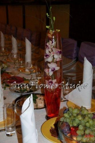 Фото 10610 в коллекции Свадьба в сиреневых тонах. - SunFlowerStudio - стильное оформление торжеств