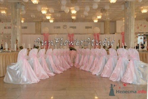 Фото 10600 в коллекции Оформление свадьбы в Мэрии - SunFlowerStudio - стильное оформление торжеств