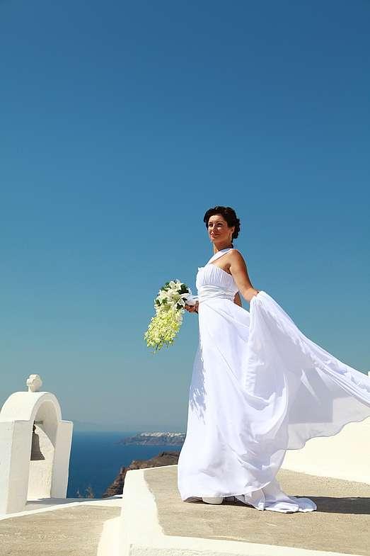 Фото 1339037 в коллекции Андрей и Наталья!!! Фотограф - Эдуард Груздев - Exclusivaweddings - организация свадьбы на Санторини