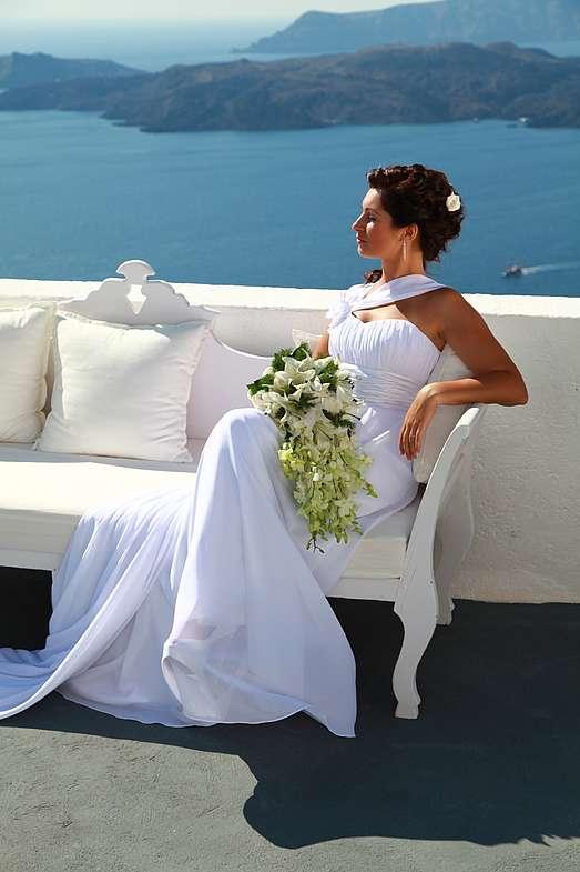 Фото 1339057 в коллекции Андрей и Наталья!!! Фотограф - Эдуард Груздев - Exclusivaweddings - организация свадьбы на Санторини