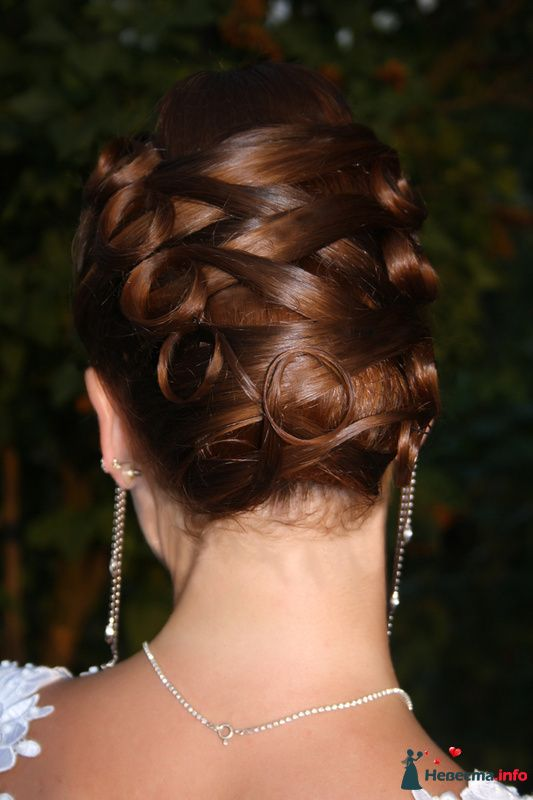 Фото 123767 в коллекции Невесты. Прическа и макияж. - Свадебный стилист - Кулагина Марина