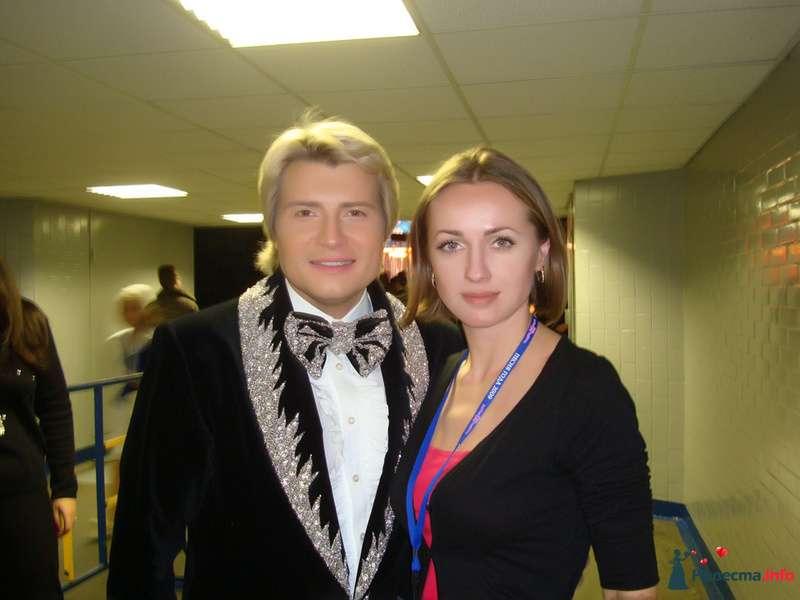 С Басковым. - фото 123898 Свадебный стилист - Кулагина Марина