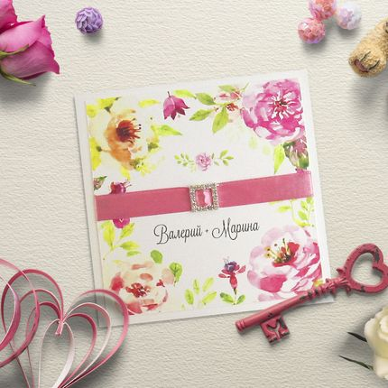 Свадебное приглашение Арт. 0045