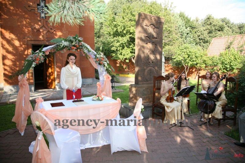 """Выездная регистрация брака_романтично и торжественно - фото 45060 Агентство """"Марианна"""" - организация мероприятий"""