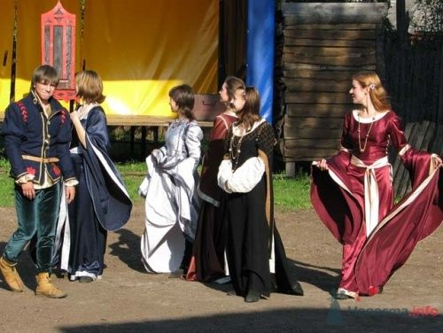 Свадьба в рыцарском стиле - фото 11111 198220