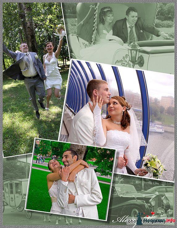 Создание коллажей - фото 126219 Свадебный фотограф Николаева Татьяна