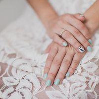 маникюр свадебный