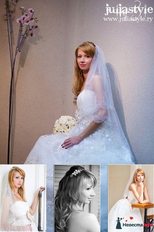 Фото 131853 в коллекции Фотографии свадебных причесок - Свадебный стилист Юлия Зайченко