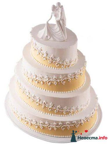"""Фото 128177 в коллекции Свадебные торты - """"Мир Любви"""" - студия свадебных услуг"""