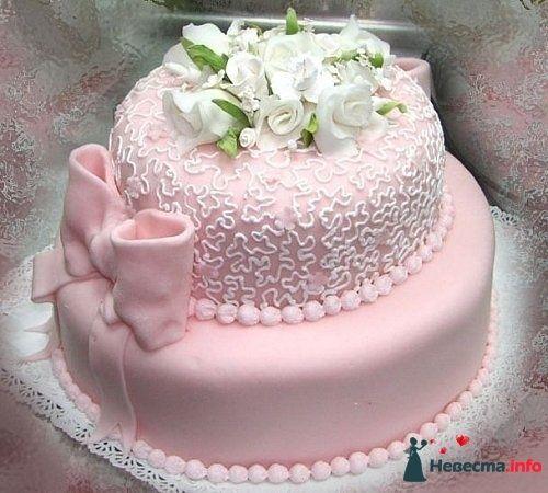 """Фото 128183 в коллекции Свадебные торты - """"Мир Любви"""" - студия свадебных услуг"""