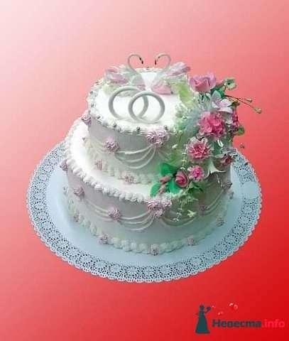 """Фото 128188 в коллекции Свадебные торты - """"Мир Любви"""" - студия свадебных услуг"""