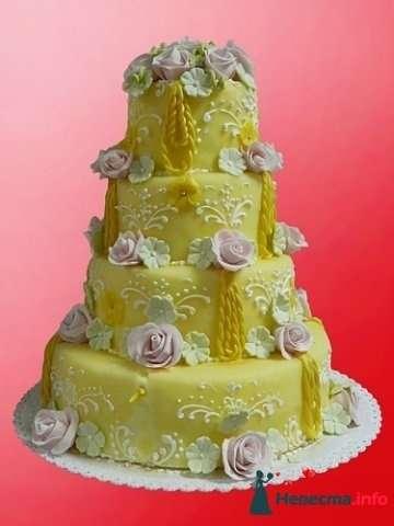"""Фото 128189 в коллекции Свадебные торты - """"Мир Любви"""" - студия свадебных услуг"""