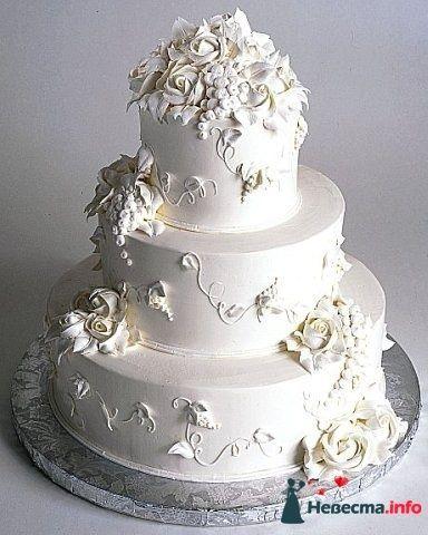 """Фото 128195 в коллекции Свадебные торты - """"Мир Любви"""" - студия свадебных услуг"""