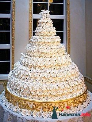 """Фото 128199 в коллекции Свадебные торты - """"Мир Любви"""" - студия свадебных услуг"""