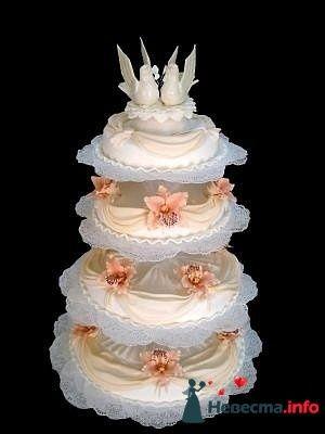 """Фото 128203 в коллекции Свадебные торты - """"Мир Любви"""" - студия свадебных услуг"""