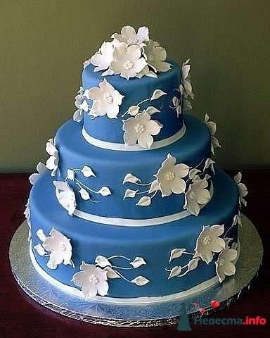 """Фото 128205 в коллекции Свадебные торты - """"Мир Любви"""" - студия свадебных услуг"""