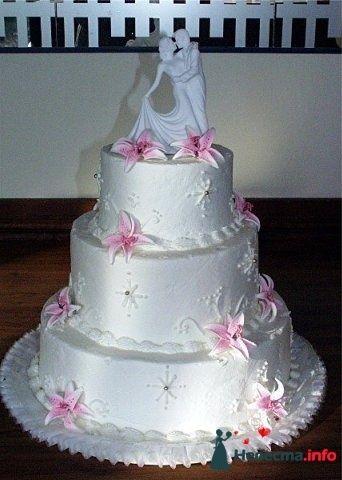 """Фото 128212 в коллекции Свадебные торты - """"Мир Любви"""" - студия свадебных услуг"""