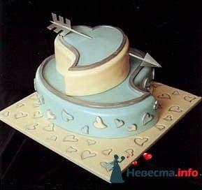 """Фото 128213 в коллекции Свадебные торты - """"Мир Любви"""" - студия свадебных услуг"""