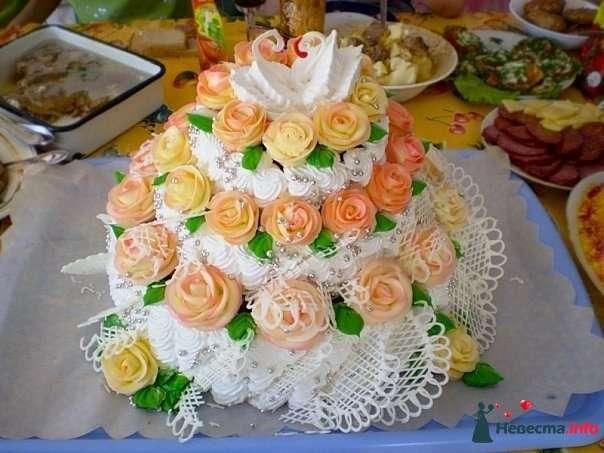 """Фото 128215 в коллекции Свадебные торты - """"Мир Любви"""" - студия свадебных услуг"""