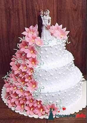 Фото 128216 в коллекции Свадебные торты