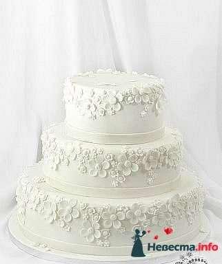"""Фото 128222 в коллекции Свадебные торты - """"Мир Любви"""" - студия свадебных услуг"""