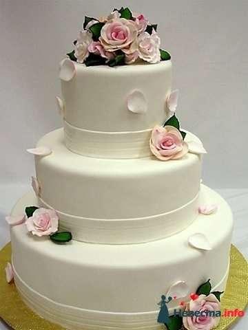 """Фото 128224 в коллекции Свадебные торты - """"Мир Любви"""" - студия свадебных услуг"""